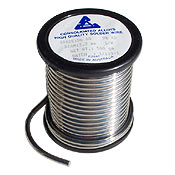 CONSOLIDATED ALLOYS 60/40 SOLDER ROLL (3.2MM) - 500G