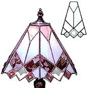 One of the lampshades from our Next Generation SnapOut Template range