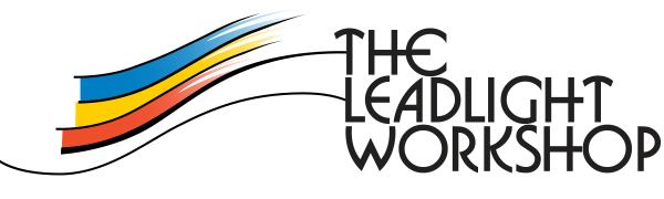The Leadlight Workshop logo